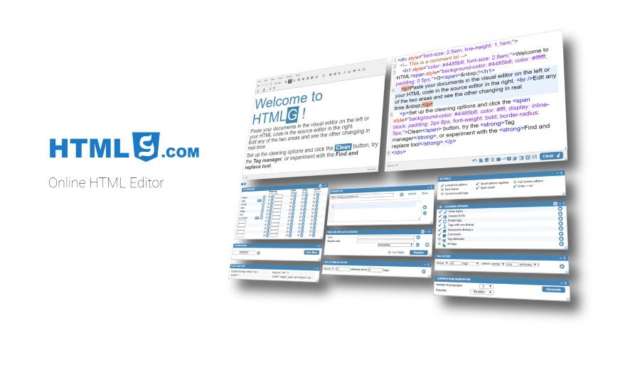 Online Wysiwyg Html Editor Professional Toolkit